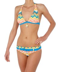 UPPERS 12 D-CUP HALTER BIKINI PROTEST PERSIMMON