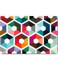 Set 4ks omyvatelé prostírání Hexagon REMEMBER