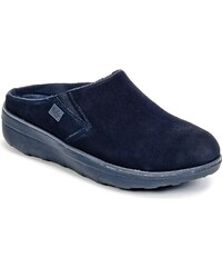FitFlop Pantofle LOAFF SUEDE CLOG FitFlop