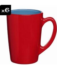Luminarc Lot de 6 mugs 32CL
