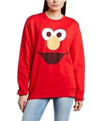 Sesame Street Damen Sweatshirt, Einfarbig