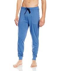 Ceceba Herren Schlafanzughose Pyjama Hose, Lang, Bündchen