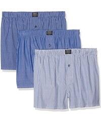 Springfield Herren Boxershorts Pack 3 Blue