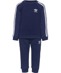 adidas Originals QUILTED CREW SET Pantalon de survêtement night sky