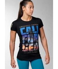 Reebok 2016C ROSSFIT GAMES CALI Tshirt imprimé black
