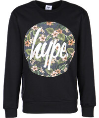 Hype Flower Circle Sweater black
