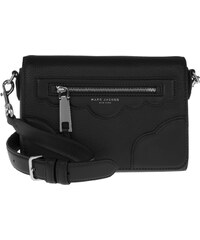 Marc Jacobs Sacs à Bandoulière, Leather Crossbody Bag Black en noir