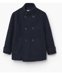 MANGO KIDS Zweireihiger Mantel Aus Woll-Mix