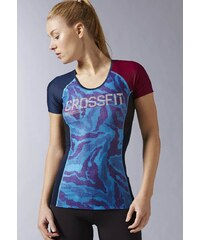 Reebok CROSSFIT COMPRESSION Funktionsshirt wild blue