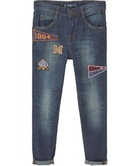 Mango Jeans Tapered Fit dark blue