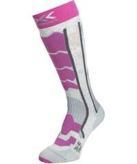 X Socks CONTROL 2.0 Chaussettes de sport light grey mel/violet