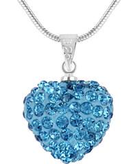 Fashionvictime Collier Pendentif Argent Plaqué Rhodium Crystals From Swarovski