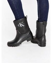 Calvin Klein Jeans - Philippa - Bottines en caoutchouc - Noir
