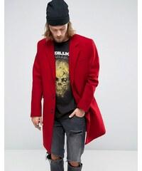 ASOS - Roter Mantel aus Wollmischung - Rot