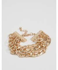 ASOS - Bracelet chaîne - Doré - Doré