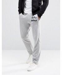 Tokyo Laundry - Pantalon de survêtement chiné - Gris