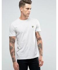 Lyle & Scott - T-shirt motif aigle - Écru chiné - Beige