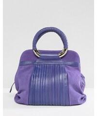 Ri2k - Sac en cuir et en daim - Violet