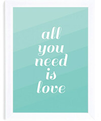 "Le Mog Affiche ""All You Need Is Love"""