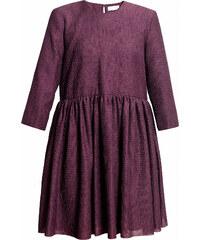 UNDRESS Robe Trapèze Violette Mi-longue - Elysian