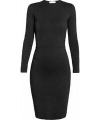 UNDRESS Robe Noire Mi-Longue - Eonian