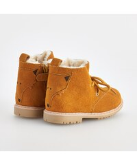Reserved Kožené boty nad kotníky