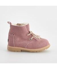Reserved Zateplené kožené boty