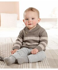 KLITZEKLEIN Klitzeklein Pullover für Babys braun 62,68,74,80,86