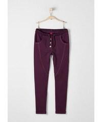 S.OLIVER RED LABEL JUNIOR RED LABEL Junior Warme Jogging Pants mit Effektnaht für Mädchen lila L (164),M (158),S (146),XL (176),XS (134)