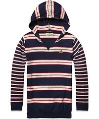 Scotch Shrunk Jungen Pullover Hooded Pull with Double Layered Cuffs