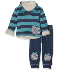 Lilly and Sid Baby-Jungen Bekleidungsset Reverse Cuddle Fleece Set