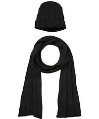 Urban Classics Unisex Mütze, Schal & Handschuh Beanie Scarf Set