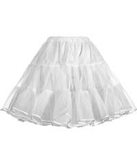 SAF Spodnička pod šaty tylová bílá
