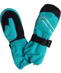 Bugga Chlapecké lyžařské palcové rukavice - modré