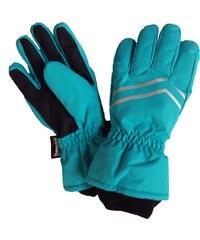 Bugga Chlapecké lyžařské prstové rukavice - modré