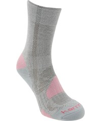 Ponožky Karrimor Walking 2 Pack dět. šedá/růžová