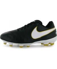 Nike Tiempo Legend Firm Ground Football Boots Child Boys, black/white
