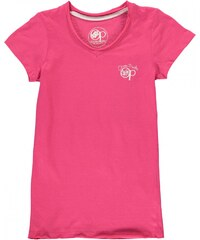 Ocean Pacific Long V Neck T Shirt Junior Girls, pink