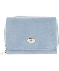 Fuchsia Portefeuille Portefeuille en vinyle bleu femme