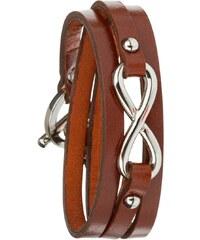 Toui2 Bracelets Bracelet triple tour en cuir Infinity