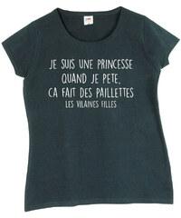 Les Vilaines Filles T-shirt T-shirt manches courtes coton Je suis une princesse