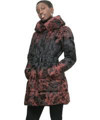 Desigual Dámský kabát Navarra Rojo Tierra 67E29K5 3030