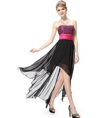 Ever Pretty Asymetrické šaty bez ramínek