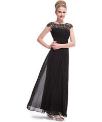 Ever Pretty Černé krajkové šaty