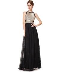 Ever Pretty Šifonové šaty se zlatými odlesky