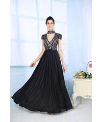 Dorisqueen Luxusní šaty z hedvábí
