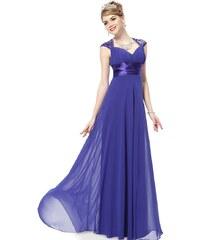 Ever Pretty Modré šifonové šaty inspirované antikou