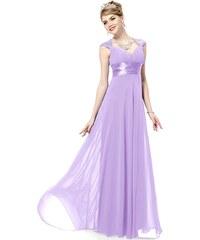Ever Pretty Světle fialové šifonové šaty inspirované antikou