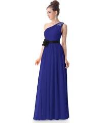 Ever Pretty Modré šaty antického střihu