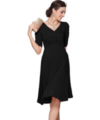 Ever Pretty Strečové černé šaty pro každou příležitost